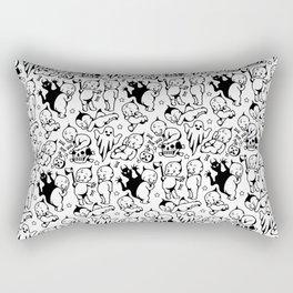 Classic Kewpie Pattern Rectangular Pillow