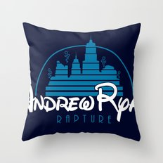 Andrew Ryan - Rapture Throw Pillow