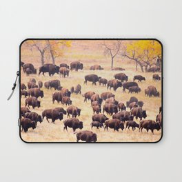 Buffalo Roundup at Custer State Park Laptop Sleeve