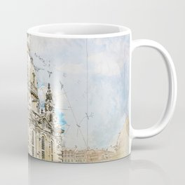 Frauenkirche, Dresden Germany Coffee Mug