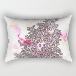 170320 Abstract Watercolor 5 | Scandi Micron Art Design Rectangular Pillow