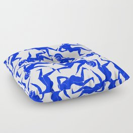 HOPLITES in Blue Floor Pillow