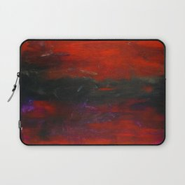 From a Nightmare II, Acrylics on Canvas Laptop Sleeve