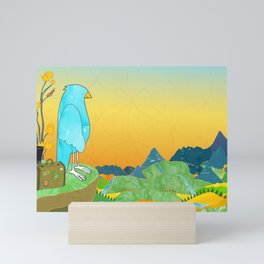 """The Journey Begins (from the book, """"You, the Magician"""") Mini Art Print"""