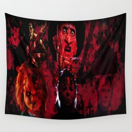 Masters Of All Horrors Wall Tapestry