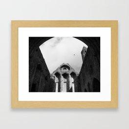 The Ruins of Cashel Framed Art Print