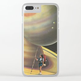 Explorers of the Universe Clear iPhone Case