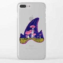Shark Tooth Terrarium 2 Clear iPhone Case