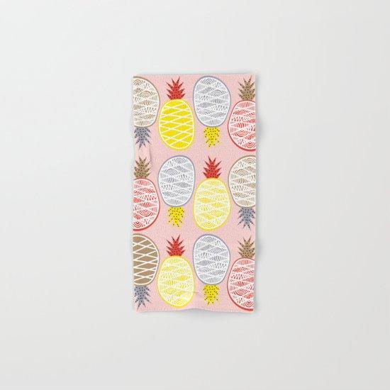 Pineapple I Hand & Bath Towel