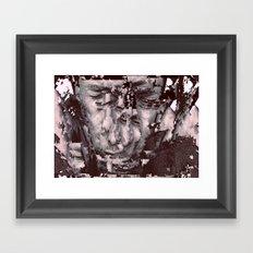 sliced Thom Framed Art Print