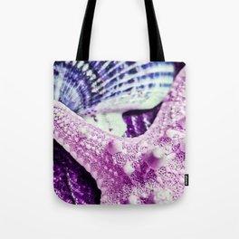Sweet Little Pink Starfish Tote Bag