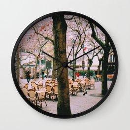 I like Paris. Wall Clock