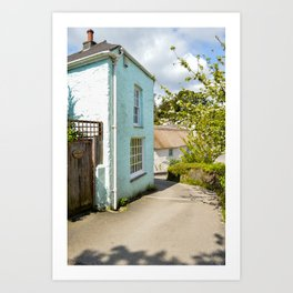 Pandora Inn - From Creekside Cottage Art Print
