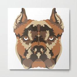 American Pit Bull Metal Print