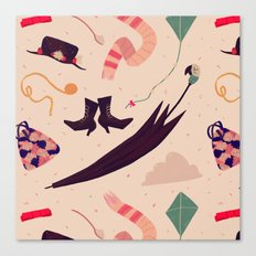 Practically Perfect Pattern Canvas Print