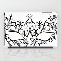 mask iPad Cases featuring Mask by Jessica Slater Design & Illustration