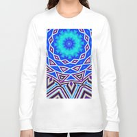 sacred geometry Long Sleeve T-shirts featuring Sacred Geometry by Michael White