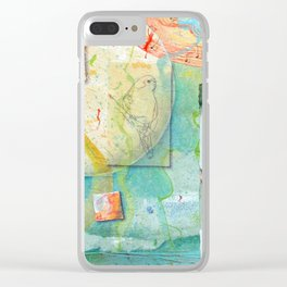 Song for Superb Parrot Clear iPhone Case