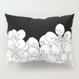 Cherry Blossom Boarder Pillow Sham