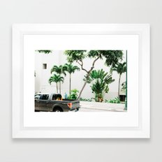 vctn 06 Framed Art Print