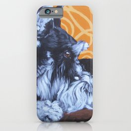 Remmington Schnauzer iPhone Case