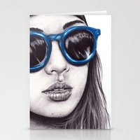 coachella Stationery Cards featuring Coachella  by Bella Harris