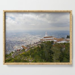 Cerro de Monserrate Serving Tray