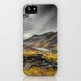 Peris Lake Snowdonia iPhone Case