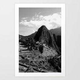 Manchu Picchu 2  Art Print