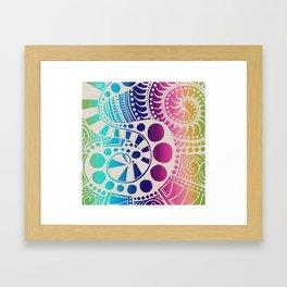 Seaworm Framed Art Print