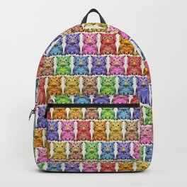 Rainbow Owls Backpack