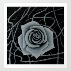 Beauty is Pain Art Print