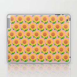 Sunflower Pattern_D Laptop & iPad Skin