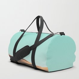 In The Distance - Turquoise Nature Photography Duffle Bag