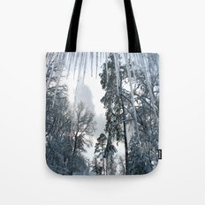Icicle Dreams Tote Bag