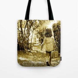 Angel of Hope & Lily Gold Tote Bag