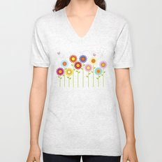 Happy Garden Unisex V-Neck