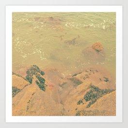 The California Summer Series // Rocks Art Print