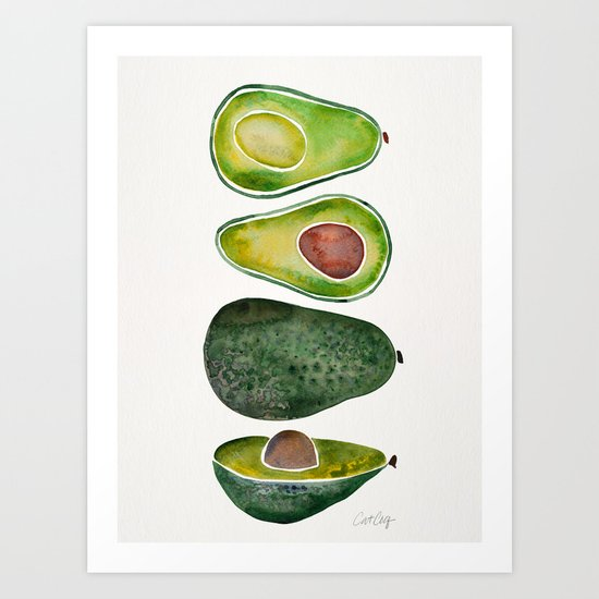 Avocado Slices by catcoq