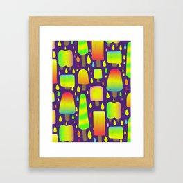 Dayglo Pops Framed Art Print