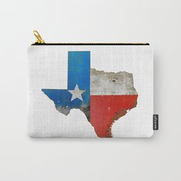 Rustic Texas Sign Carry-All Pouch