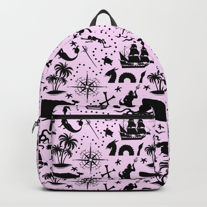High Seas Adventure // Pink Backpack
