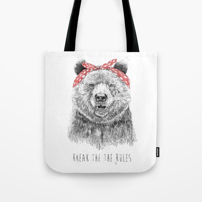 Break the rules Tote Bag