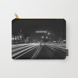 Encinitas sign long exposure Carry-All Pouch