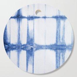 Shibori Blue - Rectangles Cutting Board
