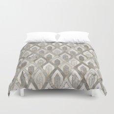 Art Deco Marble Pattern Duvet Cover
