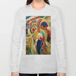 Marche au Minho (Market in Minho) by Sonia Delaunay Long Sleeve T-shirt