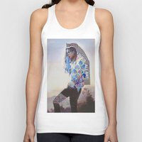 wanderlust Tank Tops featuring Wanderlust by Jenessa Peterson