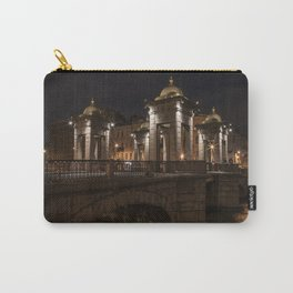 Postcards from Sankt Petersburg - Lomonosov Bridge at night Carry-All Pouch