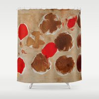 goldfish Shower Curtains featuring Goldfish by karrenn